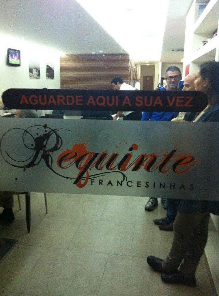 """O """"Requinte"""" das francesinhas"""