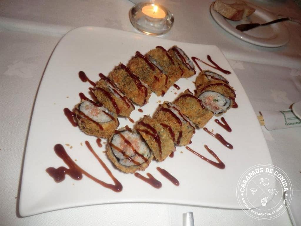 Restaurante Medit | O sushi quente