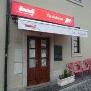 A entrada do Restaurante Tia Aninhas