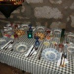 Casa de Pasto Canastra Azul   Carapaus de Comida