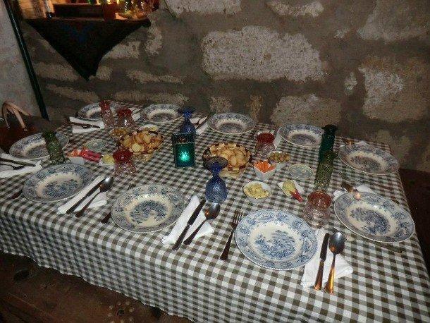 Casa de Pasto Canastra Azul | Carapaus de Comida