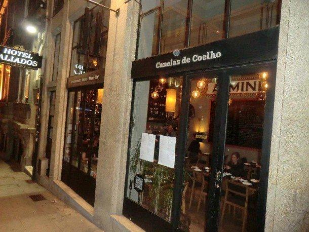Canelas de Coelho | Carapaus de Comida