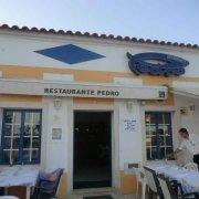 A entrada do Restaurante O Pedro em Cabanas de Tavira