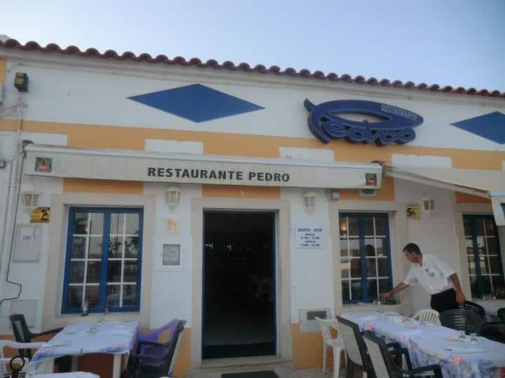 O Pedro, frente à Ria Formosa