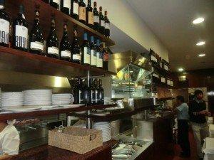 Restaurante O Valentim   O interior