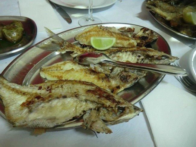 Restaurante Salta o Muro | Carapaus de Comida