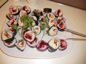 O Sushi Vegetariano