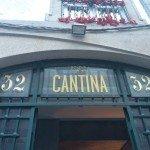 A posta de pescada sobre a nossa visita ao Restaurante Cantina 32