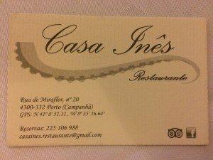 Restaurante Casa Inês | Porto | Carapaus de Comida